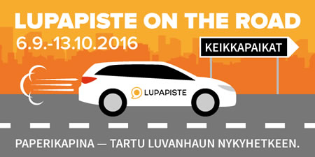 Lupapiste on the road