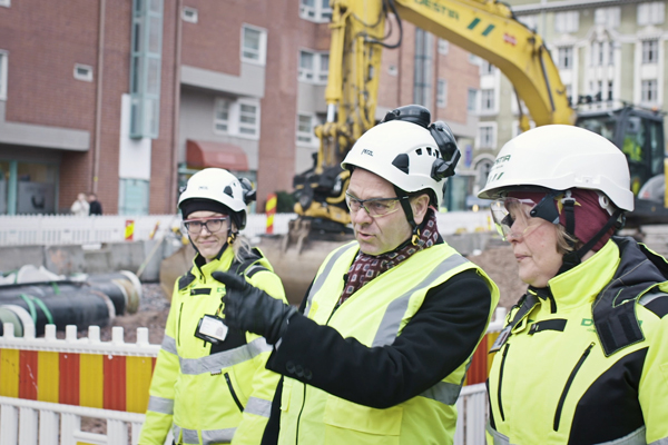 Mayor Jan Vapaavuori's quality inspector recruitment video was filmed on Hämeentie. (Photo: Otavamedia)