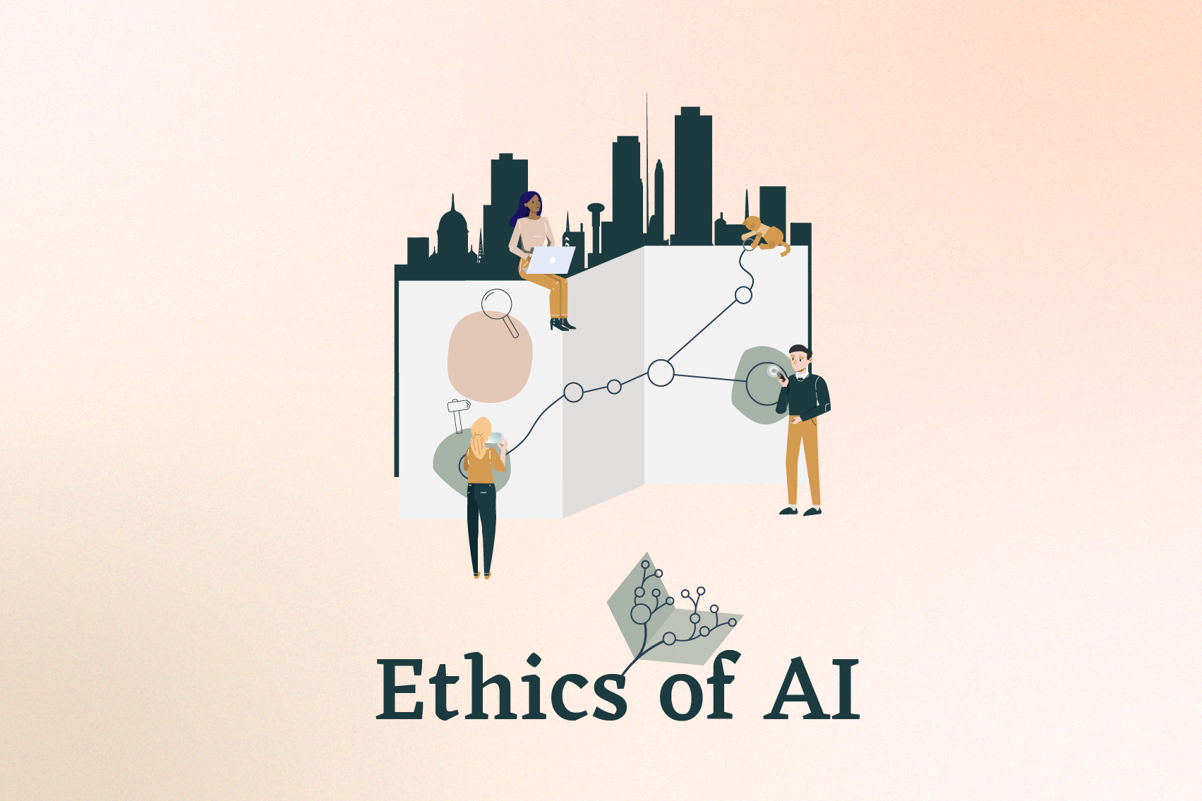 Logo of the Ethics of AI course