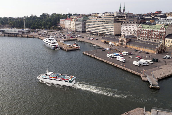 Helsinki South Harbour.