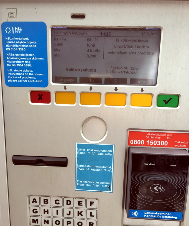 Photo: Ticket machine