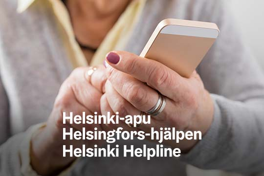 The Helsinki Helpline campaignpicture.
