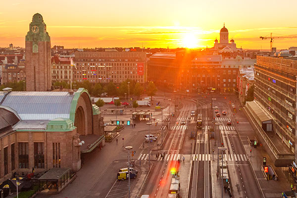City centre. Photo: Helsinki Marketing
