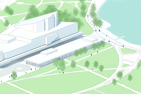 The renovation of Finlandia Hall is set to start in early 2022.